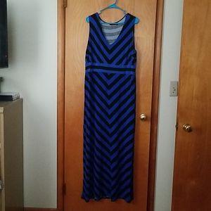 Apt 9 Chevron Maxi Dress
